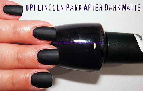 OPI Lincoln Park After Dark Matte