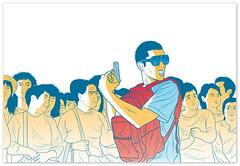 Ilustración Revista Bacánika 05 (Victor Ortiz - iconblast.com) Tags: