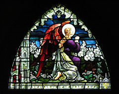 Angel supplicant (jere7my) Tags: vacation church window angel prayer praying gothic maine stainedglass stainedglasswindow anglican episcopal mountdesertisland mdi episcopalchurch swil stsaviour saintsaviour swilvacation stsavioursepiscopalchurch