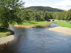 River Esk, Langholm, Scotland (Goldie1980) Tags: rural scotland countryside scenic borders langholm riveresk shinglebeach ewesbridge