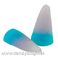 Ghostly Grape Punch Gummi Candy Corn
