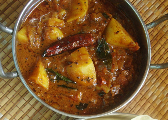 Super Spicy Curry Spicy Potato Curry