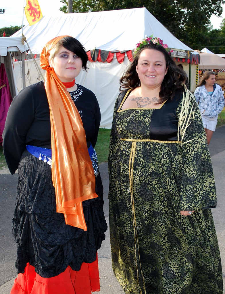 Amanda and Amy at the Renaissance Faire