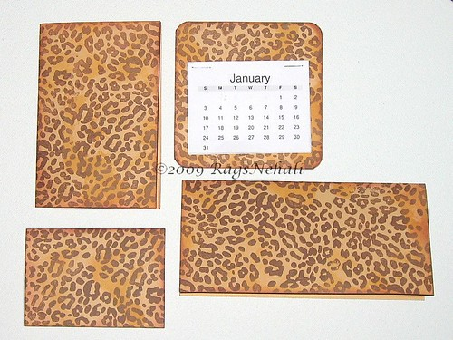 Leopard Print Business Gift set