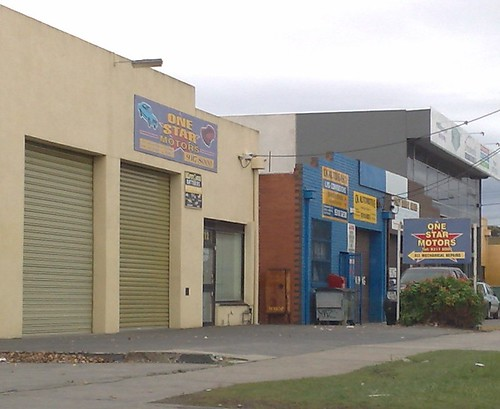One Star motors, Maribyrnong
