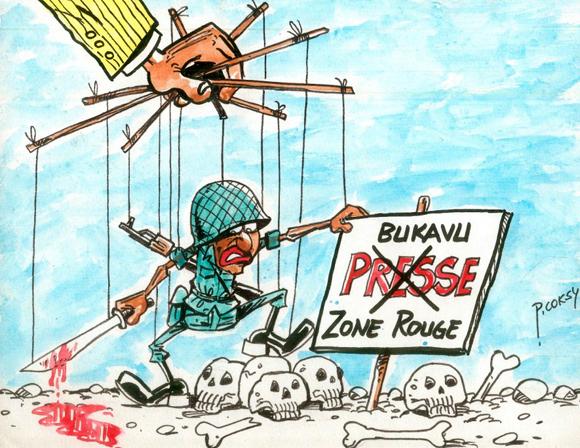 Bukavu, zone rouge et cimetière pour journalistes