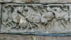 Beasts, Anglo Saxon carving - Breedon-on-the-Hill