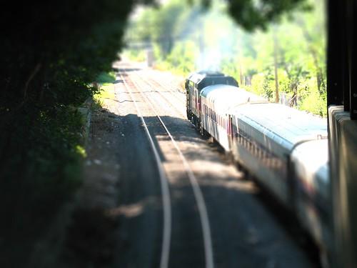 Train in Boston