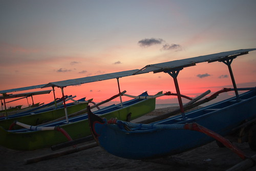 sunset in bali #2