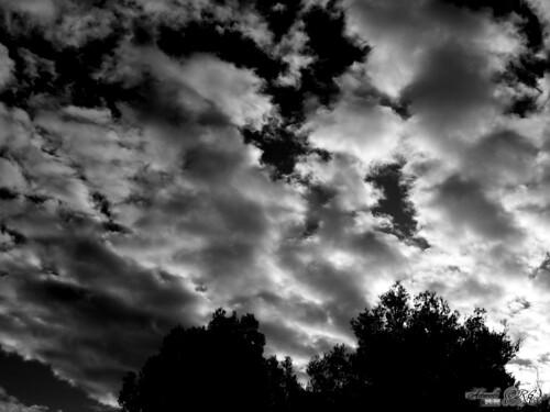 Nubes Blancas Anuncian Tormenta