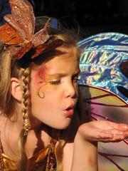 Fairy kisses (Flan de Coco) Tags: pink blue costumes girls musician sun silly cute girl festival kids children fun gold kid wings pretty artist texas child play purple tx innocent adorable sunny bubbles sprite pixie trf fairy fantasy precious renfaire fairies facepaint crazyhair pixies performer sprites worldmusic gypsy nymph playful folkmusic fairys renaissance renfest faerie faeries talented nymphs flutter blowingbubbles garb fairie bluefairy celticmusic texasrenaissancefestival flowerhair 1001dreams toddmission circapaleo