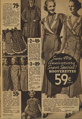 Sears catalogue 1935 - women's Hooverettes, aprons, smocks