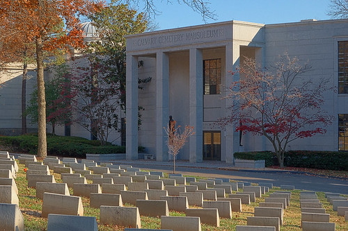 Calvary Catholic Cemetery, in Saint Louis, Missouri, USA - mausoleum