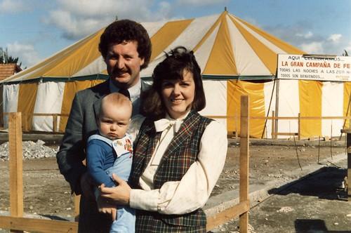 Rick, Laurel and Devin in San Pedro