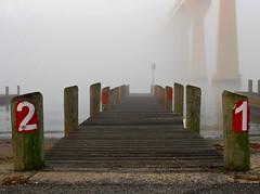 Foggy Solomons Island Pier 2