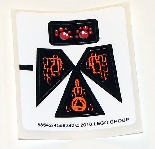 LEGO Atlantis 8056 - Stickers