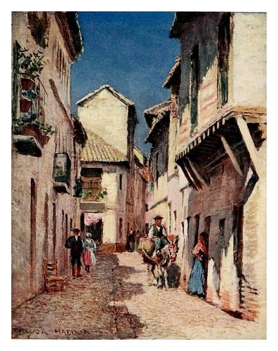 027-Córdoba-una calle-Southern Spain 1908- Trevor Haddon