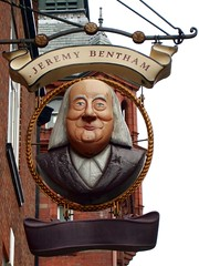 Jeremy Bentham, Bloomsbury WC1 by Ewan-M on Flickr (CC:BY)