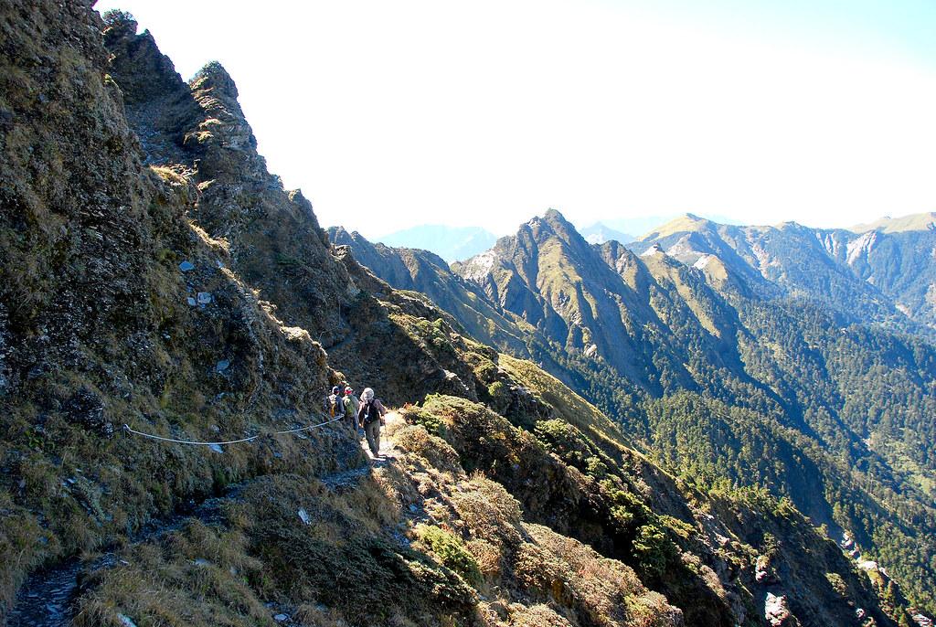 卡羅樓稜線很美