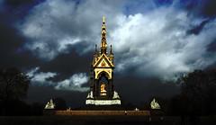 Albert Memorial - London (jo-veski) Tags: blue sky london golden memorial albert tokina1224