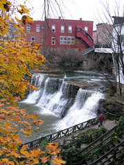 Lower falls (1). Chagrin Falls OH, November 2009