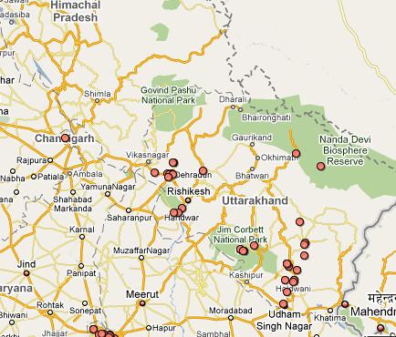 Google Maps in US India Border