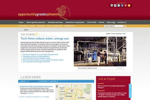 Greater Phoenix website launch