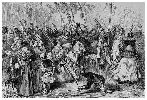 026-Fiesta en Alcoy-Valencia-Spain (1881)- Doré Gustave