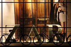 ZAR (h3rmes) Tags: light bicycle silhouette night bicycles krakoff krakó