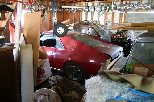 AMC AMX Barn Find Project Car
