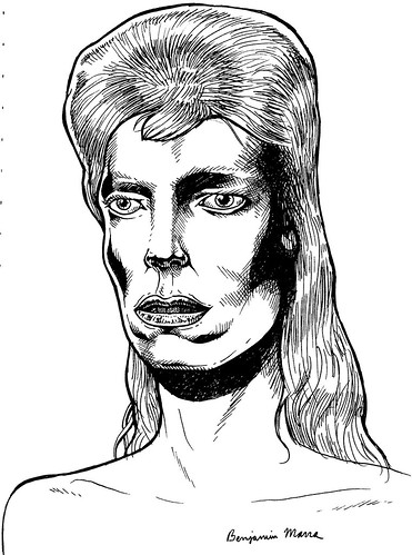 david bowie by benjamin marra