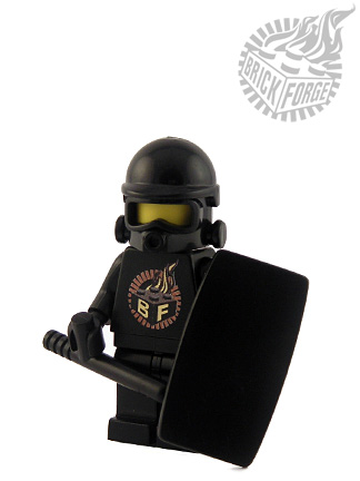 Military Shield - Black