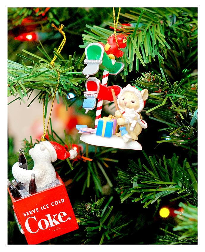 Mailbox and Coke Bear