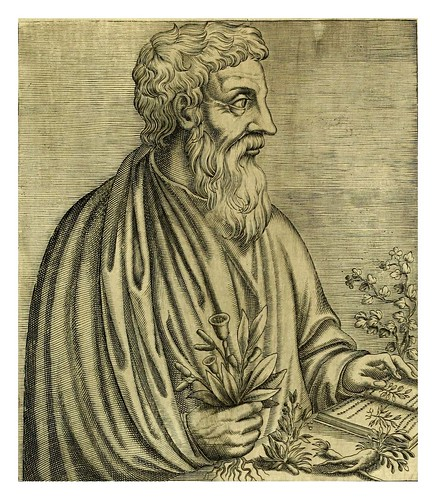 013 Dioscorides-Les vrais pourtraits et vies des hommes illustres grecz, latins et payens 1584-André Thevet
