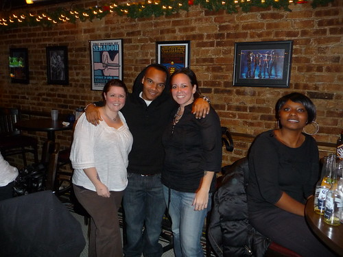 amanda, dre, and me