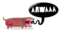 ARWAAA (Mista Bob) Tags: dog mr bob pixel xrays vector kgstudio