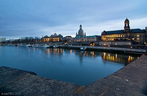 Dresden at Dusk