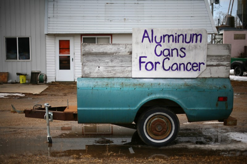 aluminum cans for cancer