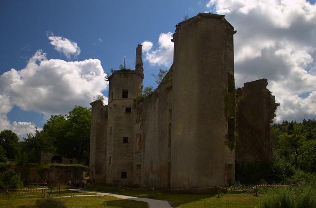Château de Rochefort sur Armançon (Coté jardin)