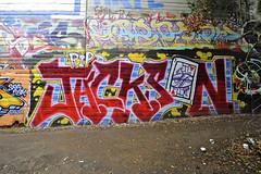 JACKSON (STILSAYN) Tags: california graffiti oakland bay jackson east area 2014