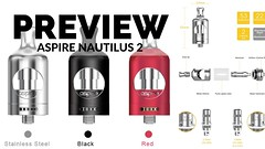 Preview of the Aspire Nautilus 2 (VapePassion) Tags: preview aspire nautilus 2