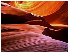 more Antelope colors, forms, ligths... (Z Eduardo...) Tags: light arizona color colour page coloradoriver antelopecanyon lowerantelopecanyon superaplus aplusphoto platinumheartaward