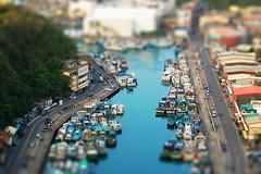 tilt-shift () Tags: city miniature view taiwan fake aerial fakes tiltshift