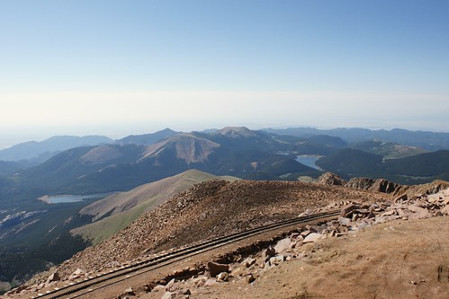 View for Pike's Peak Colorado
