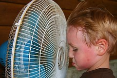 Caleb Cooling Off