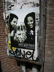 your gum here (micheleso) Tags: amsterdam wall bricks bubblegum