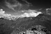 Panorama da Rocca Patanua B&W (Alberto Montrucchio) Tags: blackandwhite bw mountain mountains alps nature montagne peak natura alpi montagna vette biancoenero valdisusa canoneos1000d ashowoff