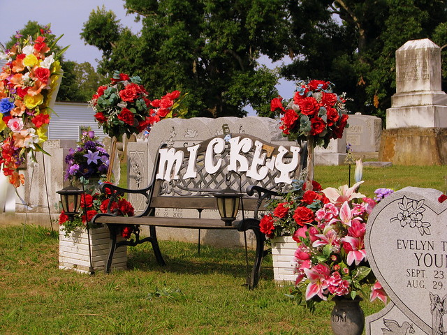 Burial place of Mickey