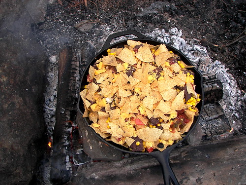 Camp Fire Nachos