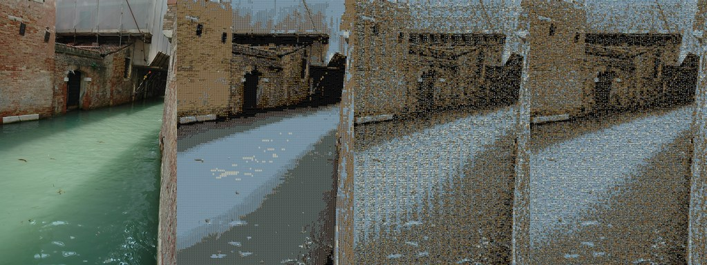 Evolution of a Homemade Photo Mosaic